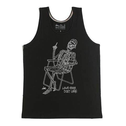 Imperial Motion - Lawn Chair Men's Tank - Black | Almasty Outdoor Co.