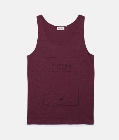 Rhythm - Journal Singlet - Wine | Almasty Outdoor Co.