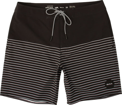 "RVCA - Curren Trunk Swimwear - Black | Maillot pour hommes ""Curren"" - Noir 