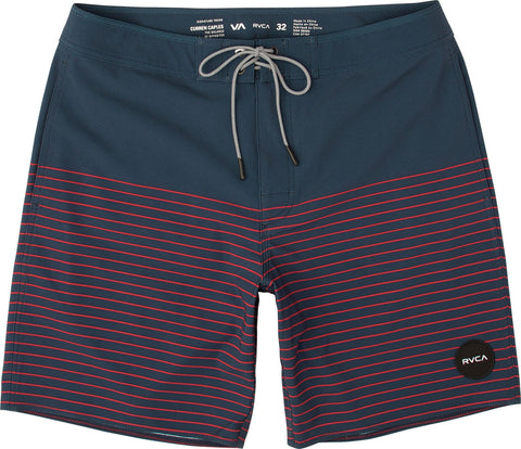 "RVCA - Curren Trunk Swimwear - Federal Blue | Maillot pour hommes ""Curren"" - Bleu 