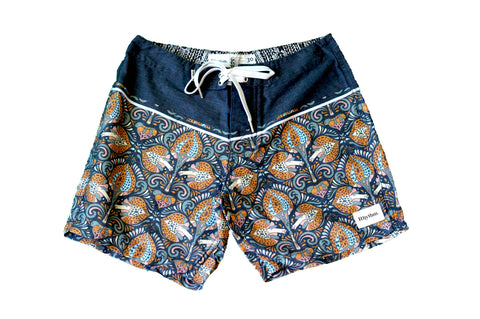 Shroom Trunk Swimwear  - Blue - Almasty Outdoor Co.