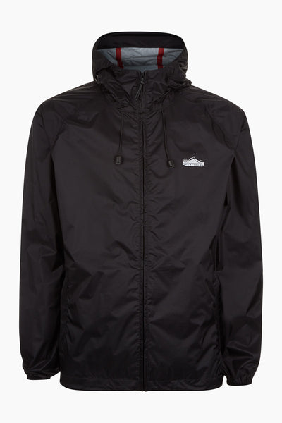 Penfield Men's Travel Shell Jacket - Black | Almasty Outdoor Co.