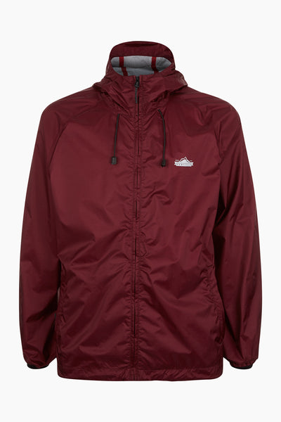 Penfield Men's Travel Shell Jacket - Cordovan  | Almasty Outdoor Co.
