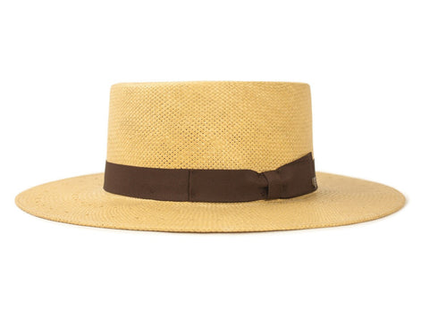 "Brixton - Adriana Hat - Tan | Chapeau ""Adriana"" - Tan 