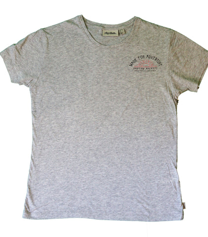 Horizon Women's T-Shirt - Grey Marle | T-shirts pour femmes Horizon - Gris - Almasty Outdoor Co.
