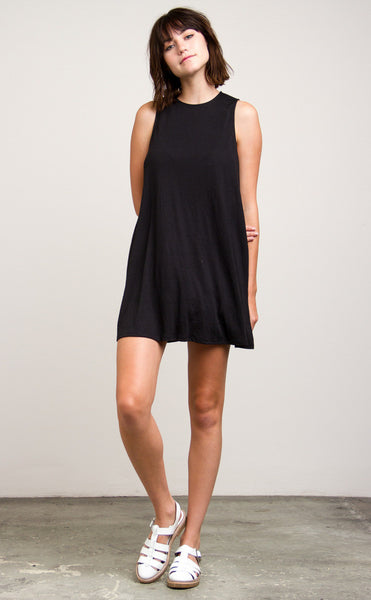 RVCA Sucker Punch 2 Dress - Black | Almasty Outdoor Co.