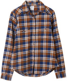RVCA Women's Jig 5 Wovens Shirt - Bronze Amber | Almasty Outdoor Co.