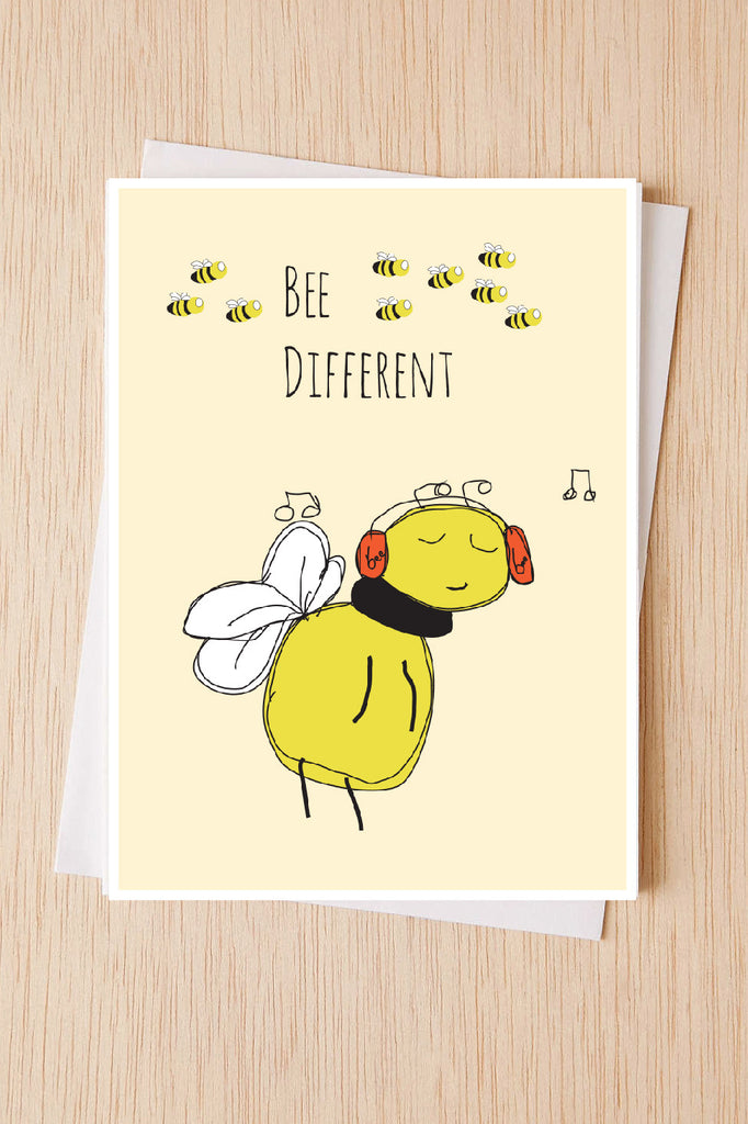 Cute encouragement card bee different bee cards illustration cute encouragement card bee different bee cards illustration greeting card card for m4hsunfo