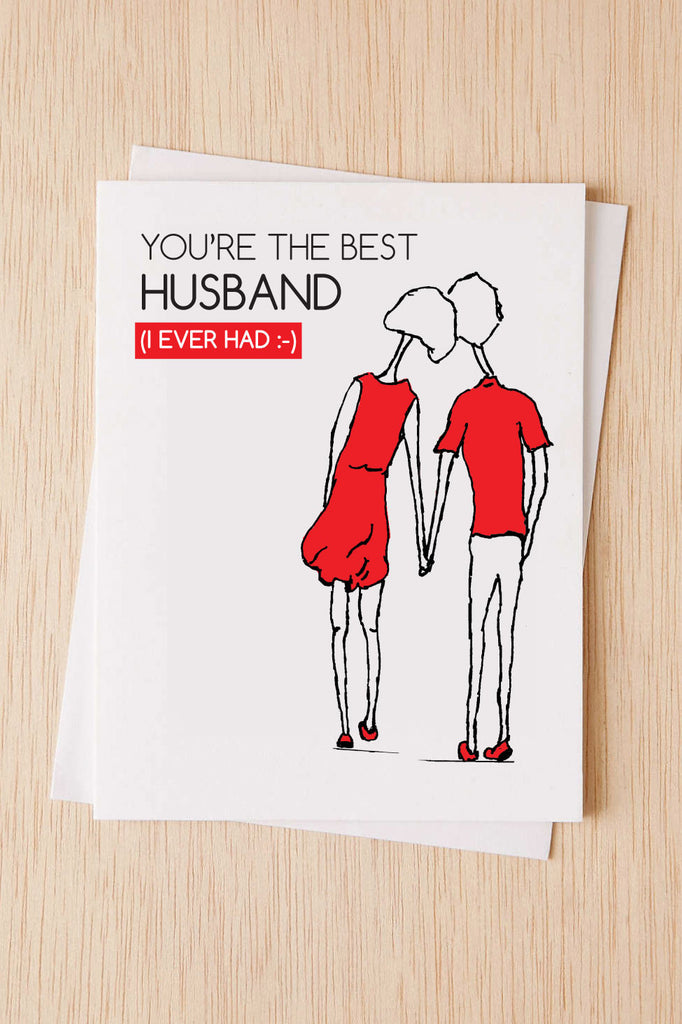 Anniversary Card Youre The Best Husband I Ever Had Thinking Of Y