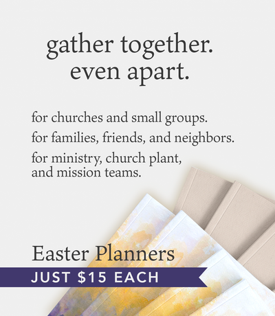 Five Ways to Use the Sacred Ordinary Days Planner with Your Group