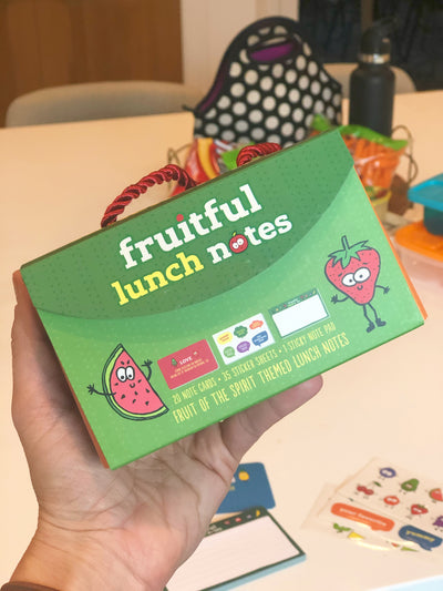 Fruitful Lunch Notes by Star Kids Company - Review by Chelsea