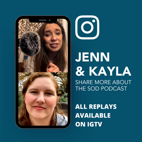 Jenn + Kayla share a preview of what to expect with the launch of the new Sacred Ordinary Days podcast!