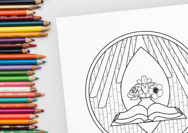 Art for All Seasons: a Coloring Book for Lent + Eastertide PDF by Sacred Ordinary Days