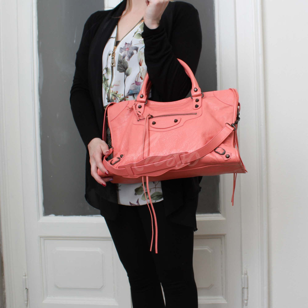 BALENCIAGA CLASSIC CITY ROSE