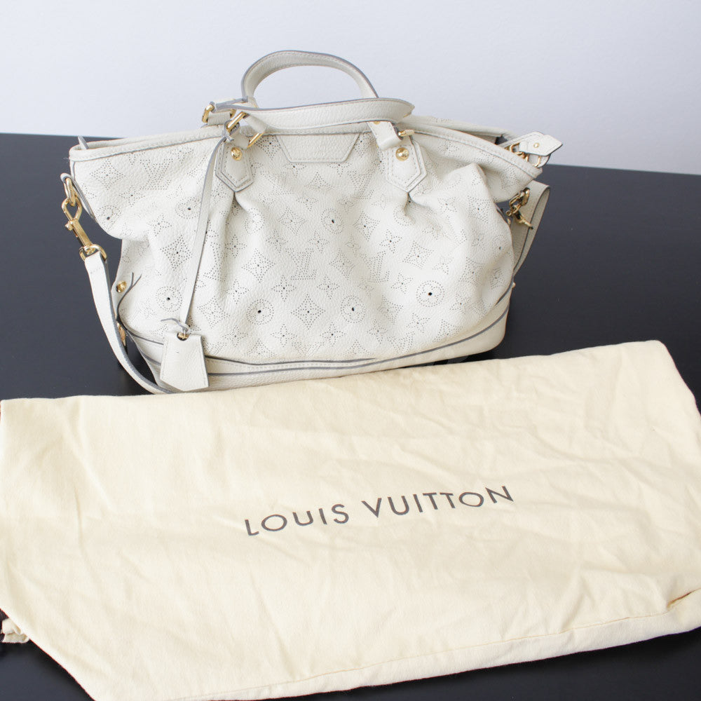 LOUIS VUITTON MAHINA STELLAR PM AVORIO