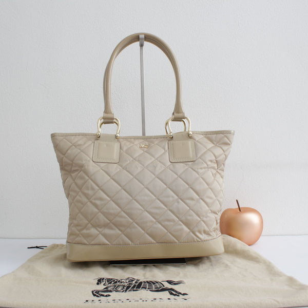 BURBERRY SHOPPER BEIGE