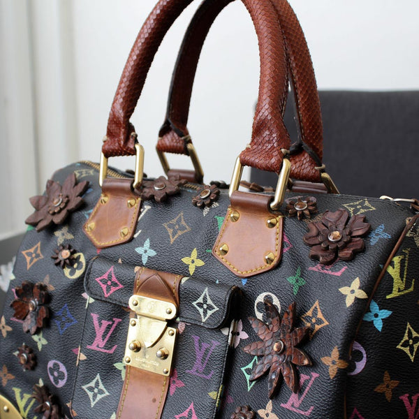 Louis Vuitton Speedy Multicolor Personalizzato Snake
