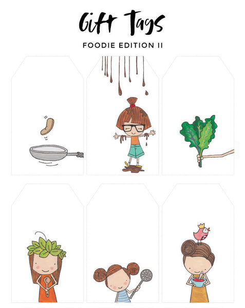Gift Tags - Foodie Edition II