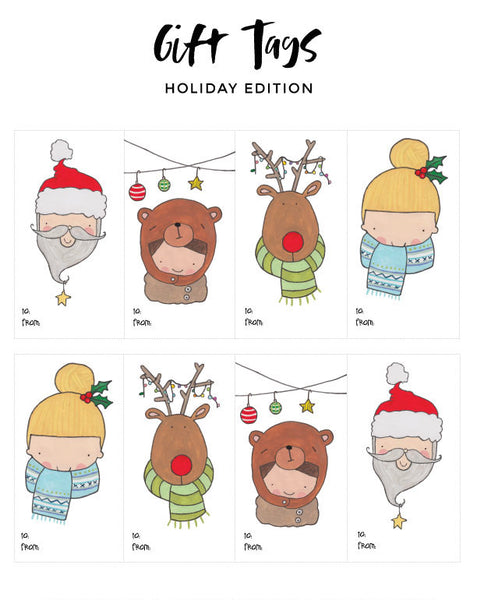 Gift Tags - Holiday Edition