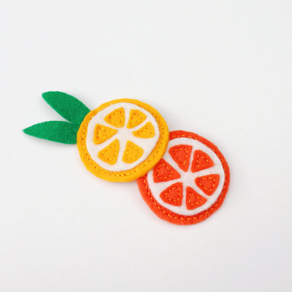 Orange Hair Clip