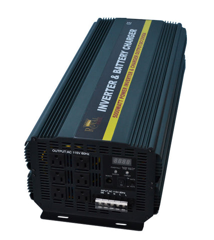 5000 Watt Power Inverter Charger 12 Volt DC To 110 Volt AC