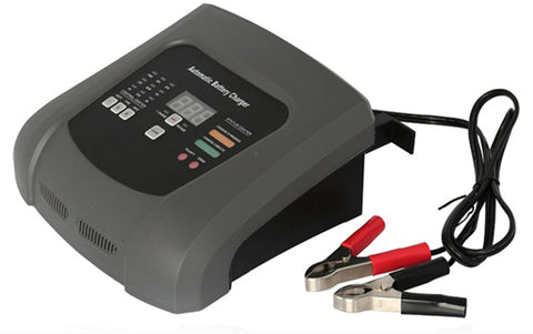 10A 6V/12V Automatic Battery Charger