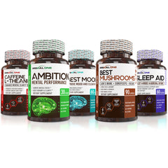 Complete Mental Performance Stack (Free Shipping)
