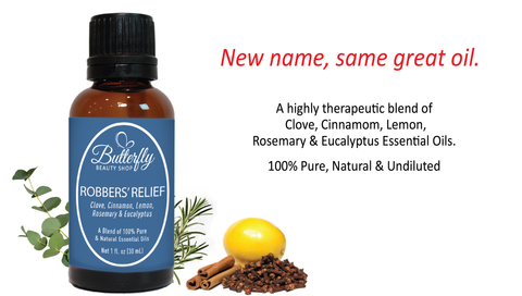 Robbers' Relief - New Name, Same Great Oil