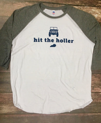 Hit the Holler Raglan