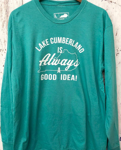 Always Lake Cumberland Long Sleeve Tee