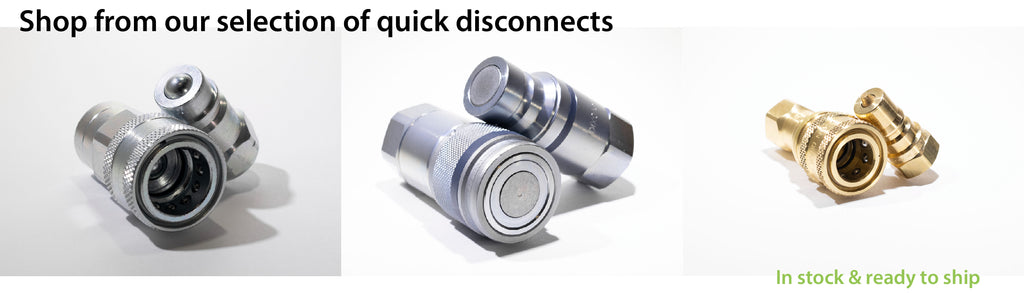 Shop hydraulic quick disconnects online