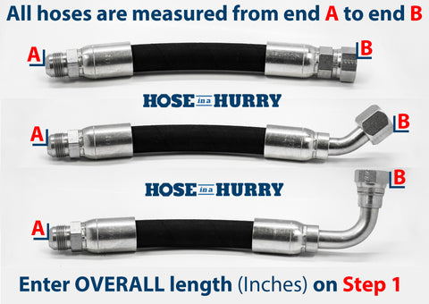 SAE 100R16 Hydraulic Hose BYOH-Build Your Own Custom Hose-Hose in a Hurry