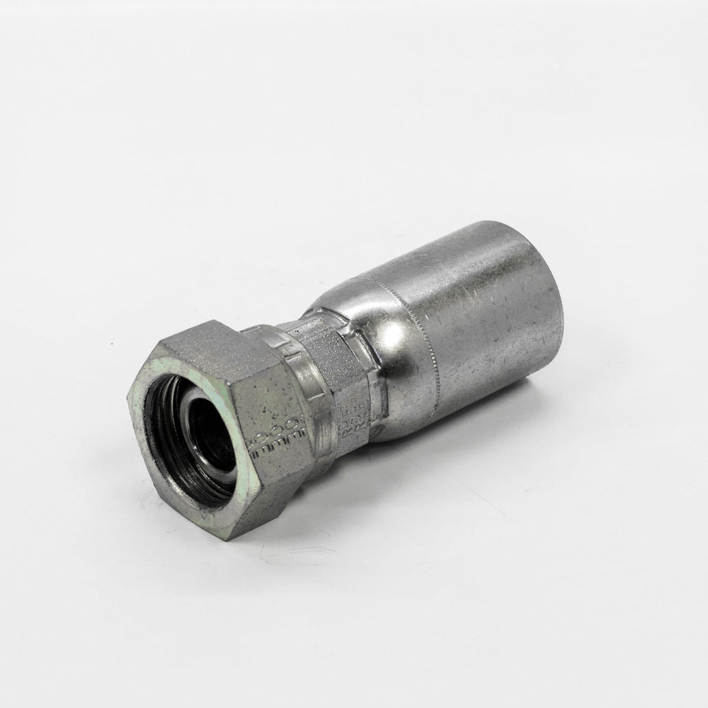 08U-66C | 24mm Metric DIN Heavy Female Hydraulic Hose Fitting for 1/2