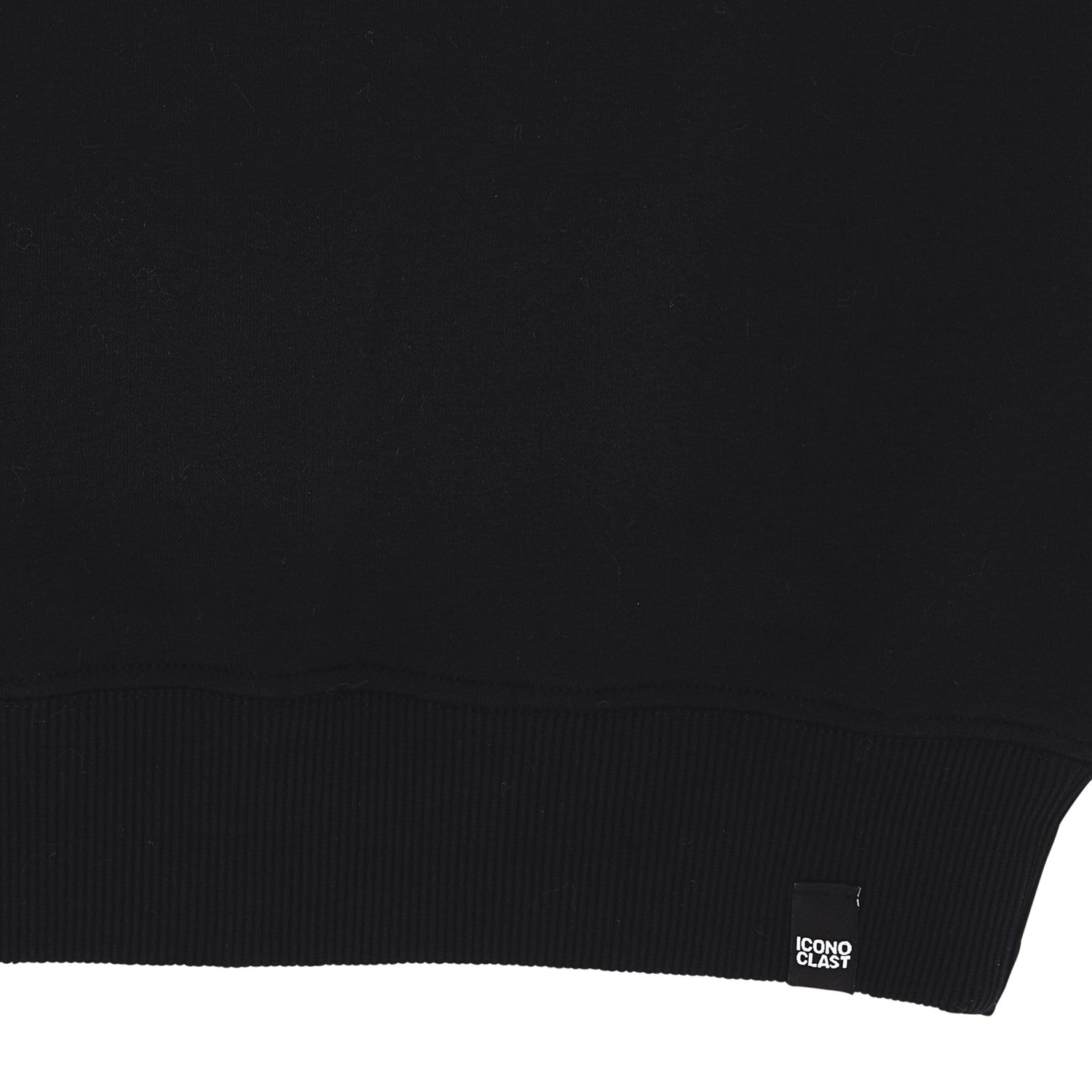 """Ico Diamond"" black sweatshirt"