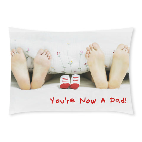 You're Now a Dad Rectangular Pillow Case (One Side)
