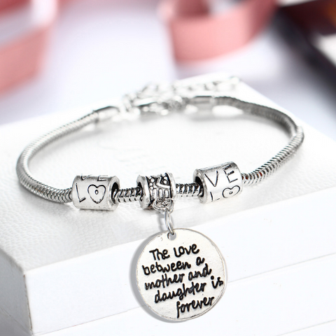 Mother and Daughter's Love Bracelet