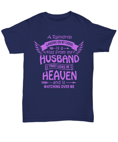 A Kiss From My Husband In Heaven Tee
