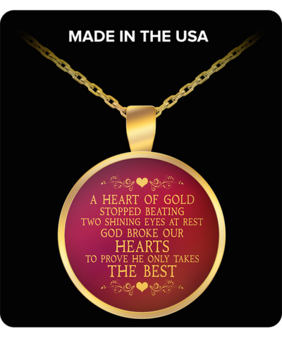 A Heart Of Gold Necklace