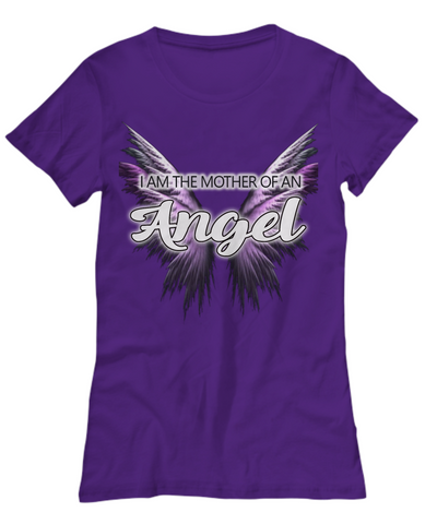 I Am The Mother Of An Angel Shirt