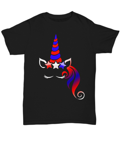 4th Of July Unicorn Tee