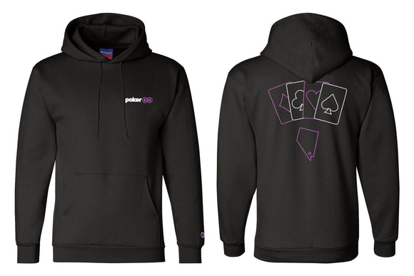 PokerGO Card Suits Hoodie