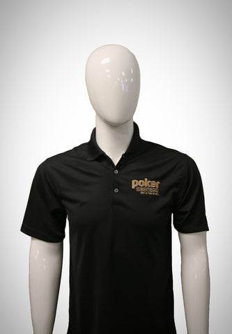 "Poker Central ""Hole in One"" Nike Polo"