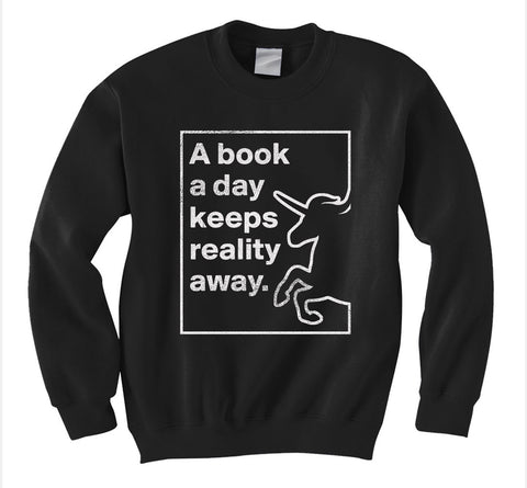 A Book a Day Sweatshirt