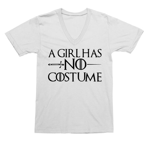 A Girl Has No Costume V-Neck