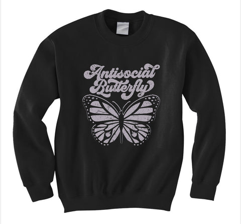 Antisocial Butterfly Sweatshirt