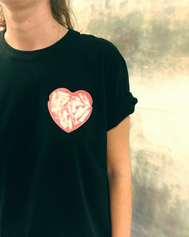 Ashtray Heart T-Shirt