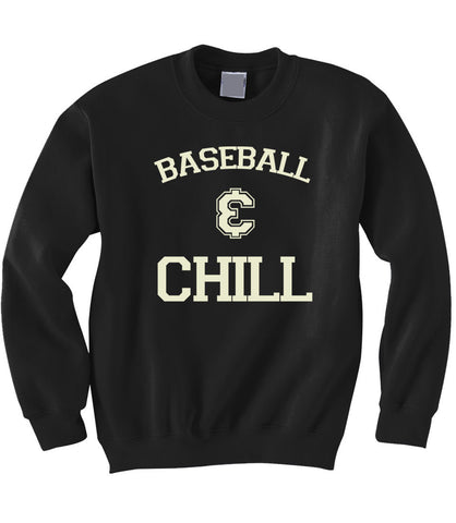 Baseball and Chill Sweatshirt