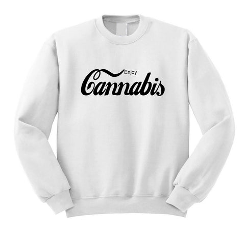 Enjoy Cannabis Sweatshirt