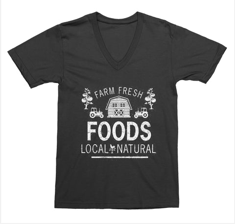 Farm Fresh Foods V-Neck