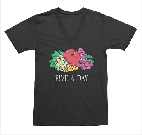 Five a Day V-Neck